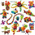 Конструктор липучка Bunchems Банчемс 500 предметов (игрушки для детей)