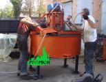 Бетоносмеситель для принудительного перемешивания бетона и растворов на 500 л