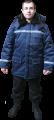 Куртка зимняя со светоотражающей полосой, куртка утепленная