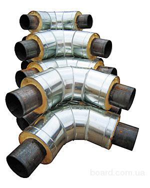 Колено стальное в спиро-оболочке 426/560 ГОСТ Б.В.25-31:2007