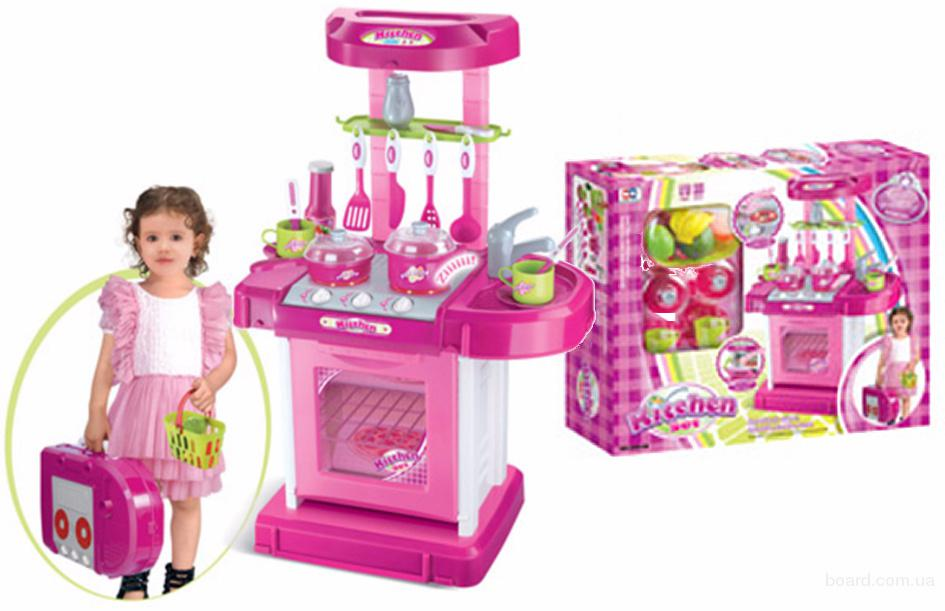 Детский игровой набор Кухня с аксессуарами 008-56