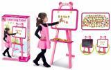 Розовый мольберт 3 в 1 для девочек 628-27A