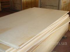 Фанера сортовая, водостойкая, березовая форматом 1,25мх2,5м