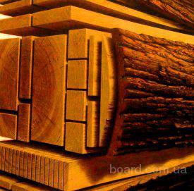 Распил древесины на обрезную и не обрезную, распиловка круглого леса (кругляка), услуги пилорамы