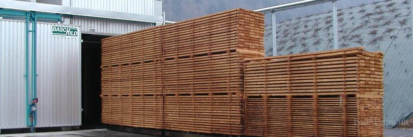Сушка древесины и пиломатериалов, услуги по сушке дерева