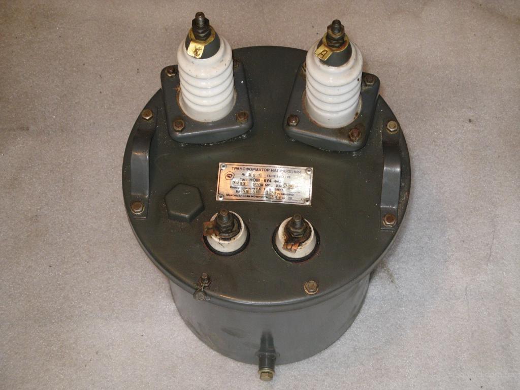 Трансформаторы напряжения НОМ-6У4