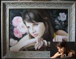 Как сделать оригинальный подарок? Закажите портрет маслом на холсте! Портрет маслом Киев.Портрет на заказ