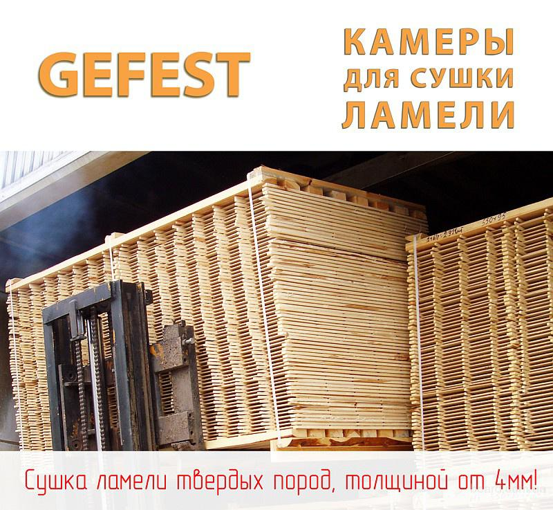 Енергоефективні сушильні камери Gefest D