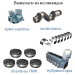 Запасные части к турбокомпрессору К-500
