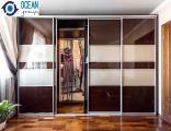 Гардеробные комнаты на заказ от компании Ocean Group