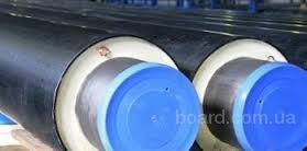 Теплоизолированная  труба для теплотрасс 630/800 в ПЭ оболочке