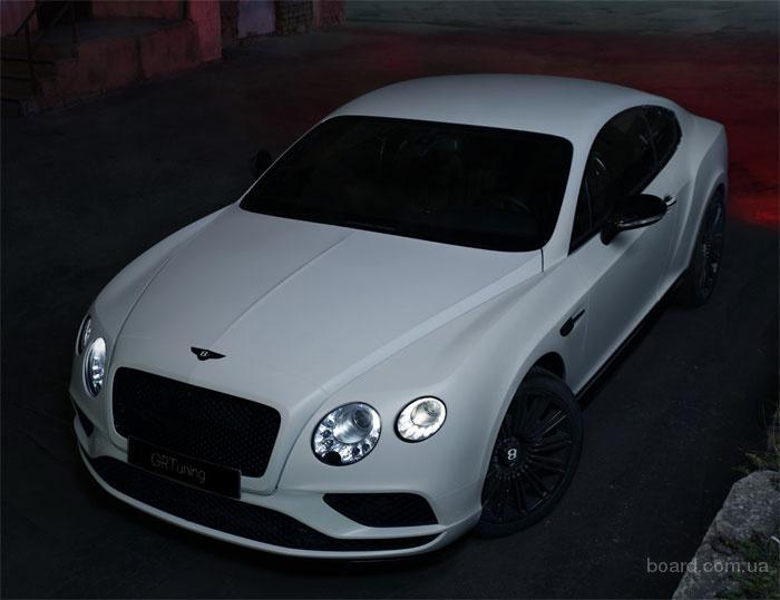 Полный рестайлинг автомобилей Bentley в 2016 модельный год