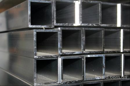 Труба профильная н/ж AISI 304, стенка 1,5 мм