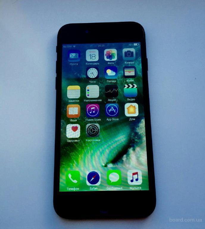 Продам Iphone 7 black high end copy (копия 1 : 1)