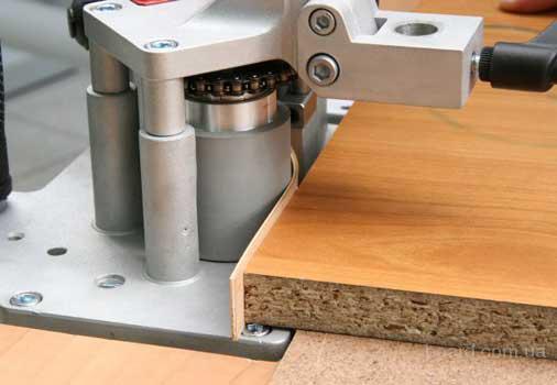 Поклейка на станке кромки ПВХ, АБС - 0,5 мм