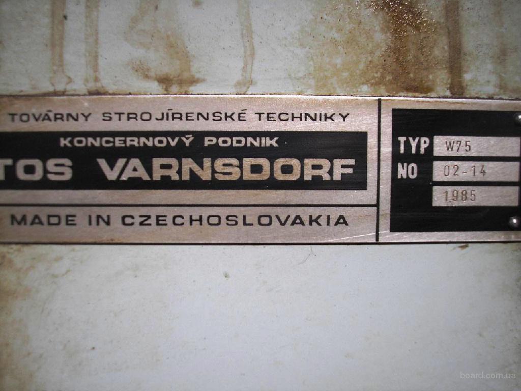 Продам горизонтально-рассточной TOS W75  1985 г