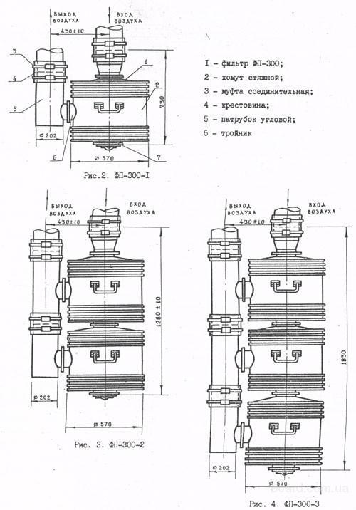 ФП-300 Фильтр-поглотитель  Складское хранение!!!