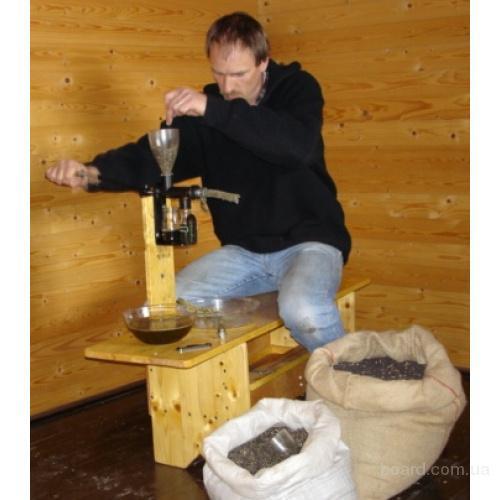 Ручной пресс для отжима масла в домашних условиях