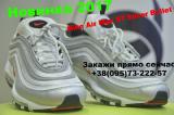 Стильные кроссовки Nike Air Max 97 Silver Bullet. Гарантия.