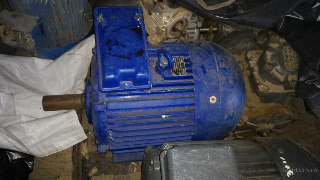 электродвигатель 4ам 200м6 22 квт 1500 об лапа б.у не мотаный