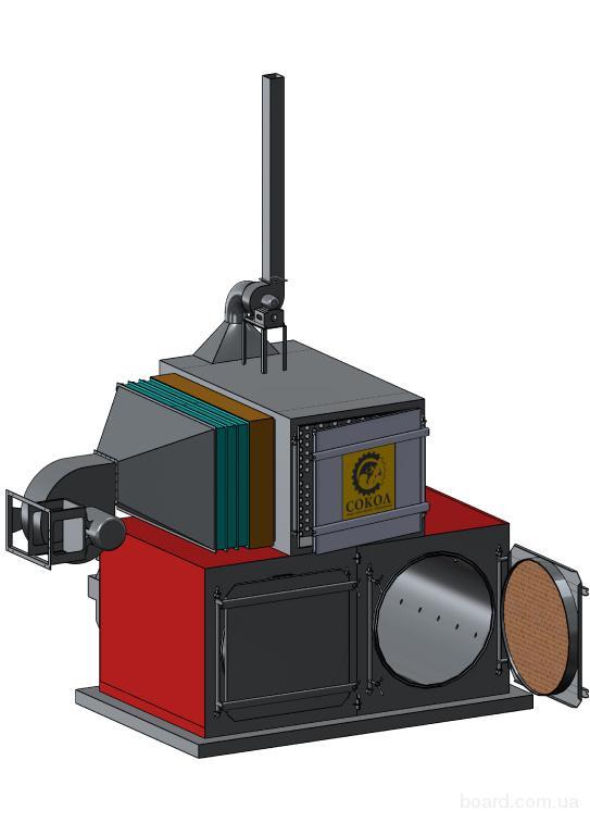 Теплогенератор на тюкованой соломе