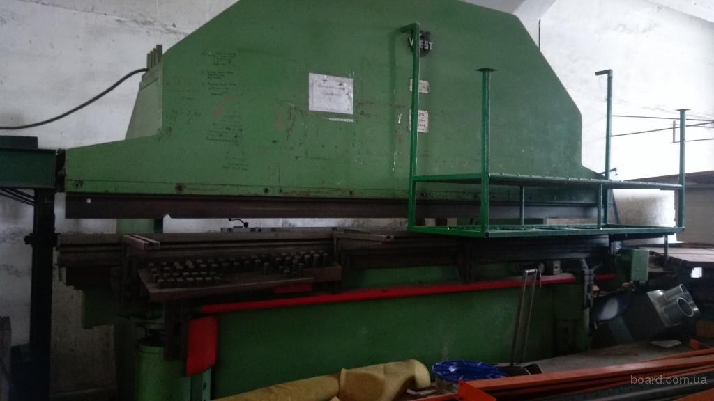 Продам кромкогиб пр-ва  Швейцария ус.160 тон ширина 4000 мм