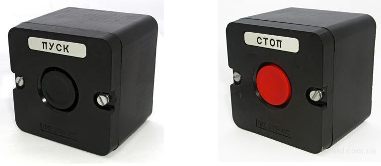Пост управления кнопочный ПКЕ 212-1У3,кр.