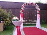 Оформление свадьбы, детский праздник.