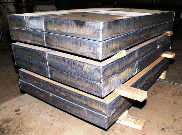 Лист стальной ст.40Х 70 мм купить со склада Киев порезка