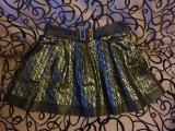 Продам юбку Dolce and Gabbana оригинал черная серая серебро пышная