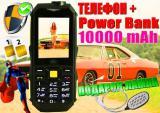 Противоударный Land Rover S16,батарея 10000mAh+USB-лампа!