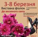 Выставка фиалок к 8 марта, Киев