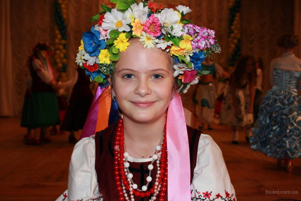 Украинский веночек своими руками