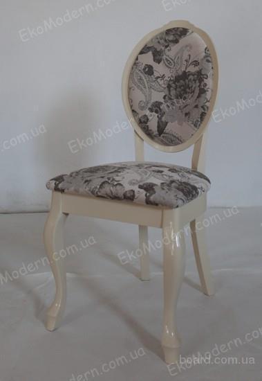 Стул мягкий Палермо с круглой спинкой из дерева бук в венском стиле