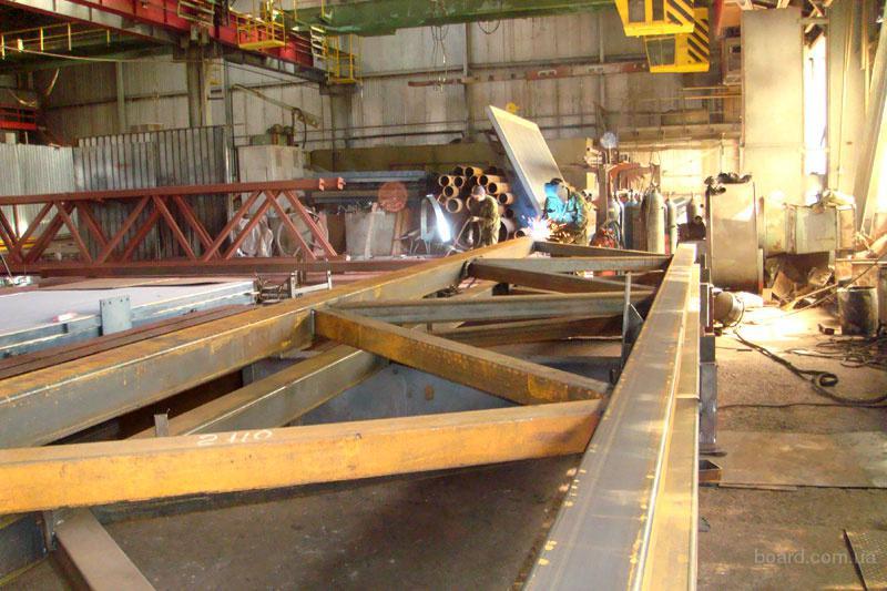 Изготовления металоконструкции