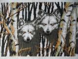 """Картина """"Северные волки"""""""
