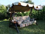 Садовые качели для отдыха, мебель для сада, доставка бесплатная по Украине