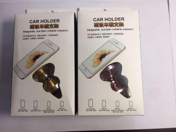 Автомобильный магнитный держатель для мобильного телефона