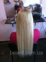 Наращивание волос в Киеве Продажа элитных славянских волос