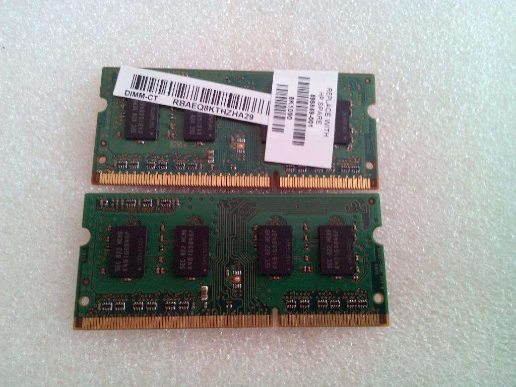 Продам модуль памяти Samsung M471B2873FHS-CH9 (HP spare 598859-001)