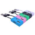 USB-хаб DeTech DE-V12 Black