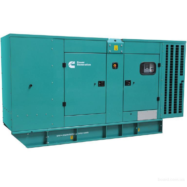 Аренда дизельного генератора мощностью 200 кВт