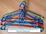 Вешалки-плечики для легкой одежды с поворотным крючком