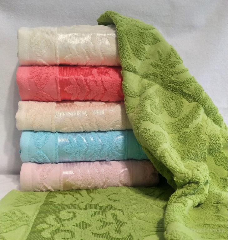 Полотенца махровые упаковка (6шт)
