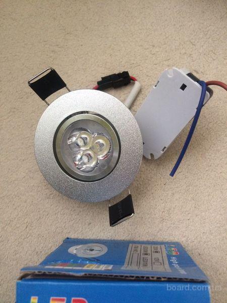 Киев.Led светильник 3 Вт Led High Power Lamp (лампа светодиодная 3 W)