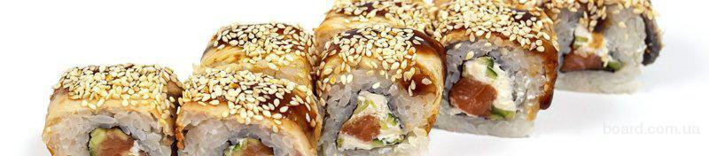 Доставка суши в Днепре на карте