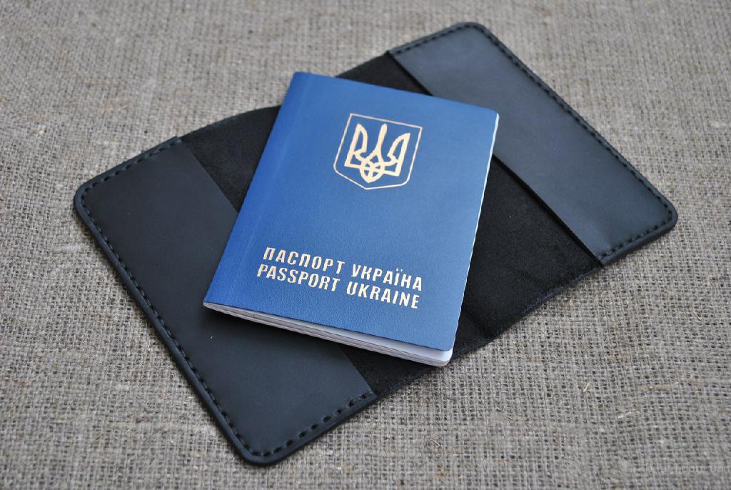 Чехол для паспорта из натуральной кожи ручной работы P01-0