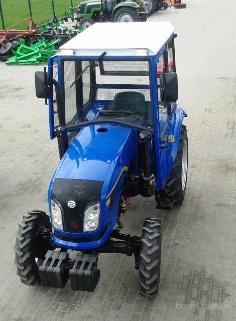 Мини-трактор Dongfeng-354 (Донгфенг-354) 4-х цилиндровый с кабиной