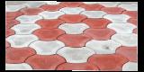 Тротуарная плитка сухопрессованная и вибролитая.