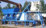 Мобильный бетонный завод YHZS25